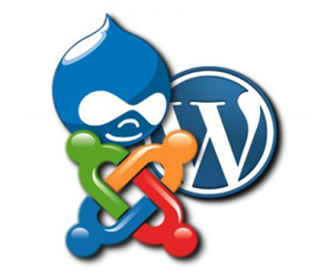 kompatibel mit Joomla, Wordpress, Drupal und Co.